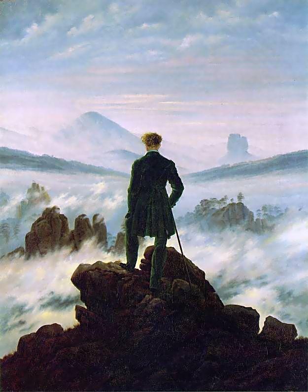 Caspar_David_Friedrich_Viajero frente al mar de niebla