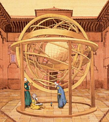Esfera Armilar Ibn Firnas