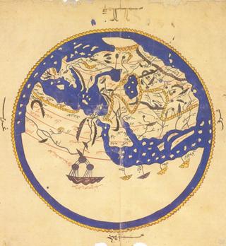 Mapa esférico de Al Idrisi