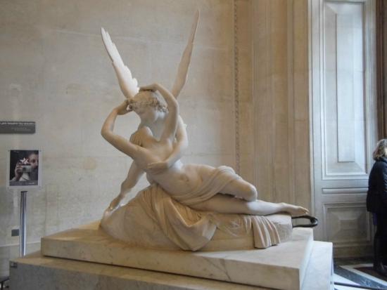 Eros y Psique-museo-del-louvre