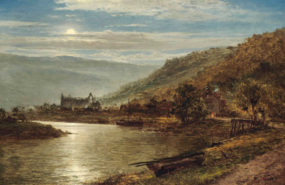 benjamin_williams_leader_ra_tintern_abbey_by_moonlight
