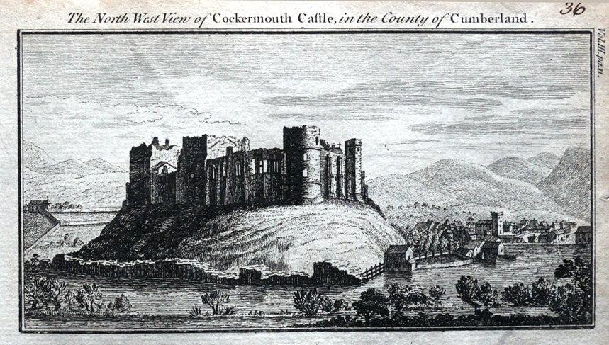 cumbria-cockermouth-castle-original-antique-copper-engraved-print-1770-14992-p