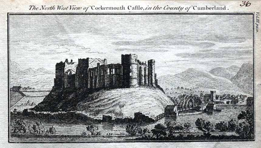 cumbria-cockermouth-castle-original-antique-copper-engraved-print-1770-14992-p