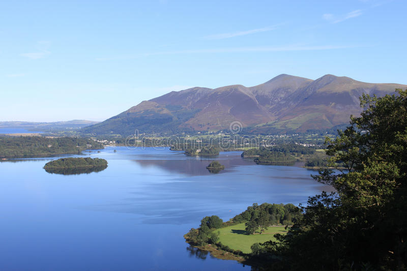 Derwentwater and Skiddaw Mountain