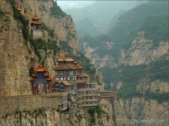 Monte Heng Shanxi-templo de Xuankongsi