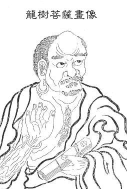 Nagarjuna-iconografía china