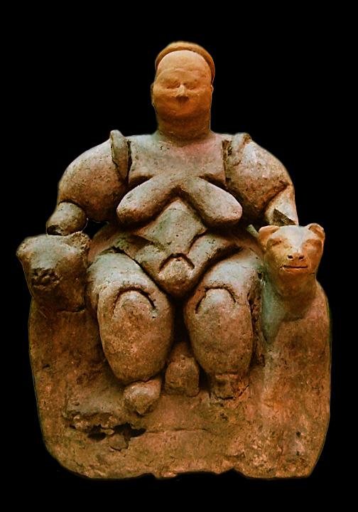 Ankara_Muzeum_Diosa Madre de Catal Huyuk