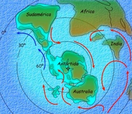 La Antártida y las corrientes marinas