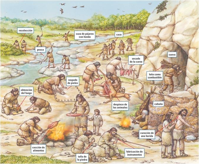 poblado paleolítico
