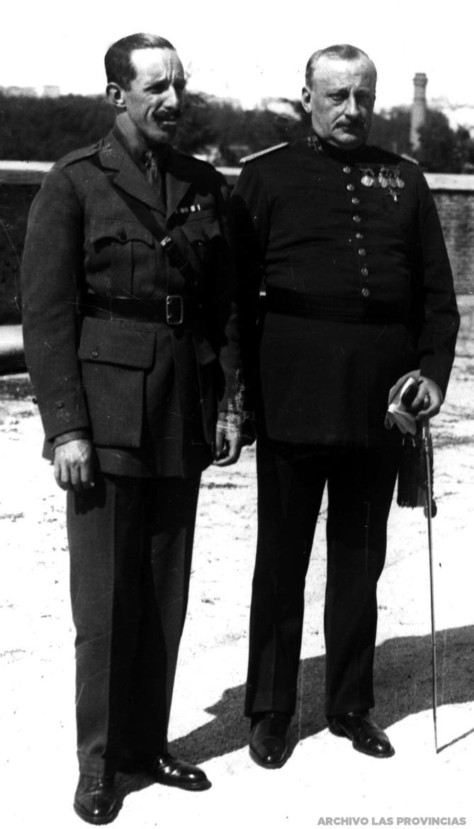 1926_Alfonso XIII y Miguel Primo de Rivera