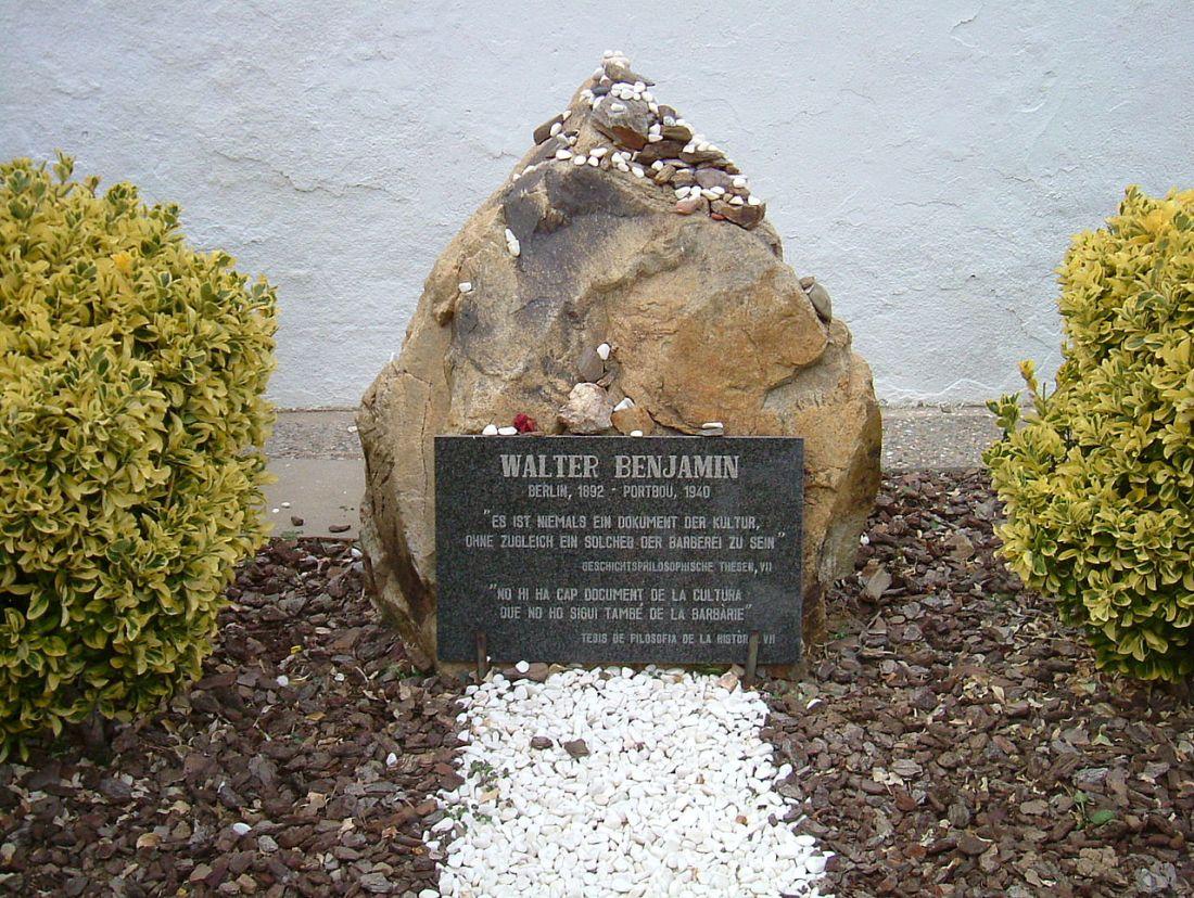 Monumento a W Benjamin